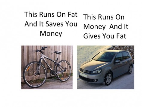 Bike versus car