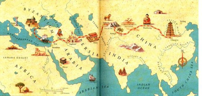 Countries we plan to travel through