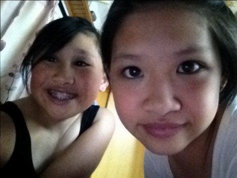 Ever since growing in Luchun, Joani & Qi have been best friends, chatting over iPad everyday.