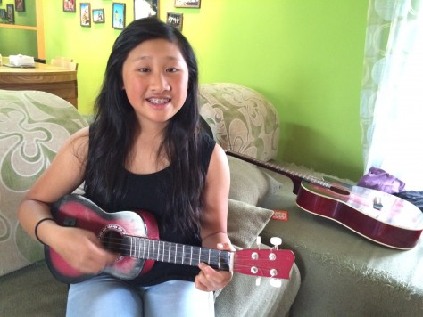 Joani enjoys playing the Ukulele and plans to bring it for the one year trip.