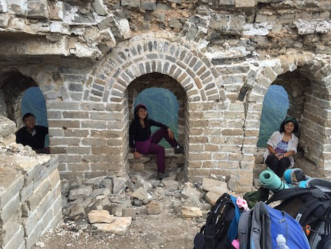 Jiankou Wall which has not been restored was built 700 years ago.