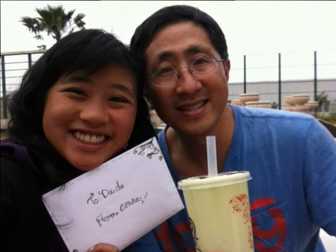 On the rooftop of Agean Mall, Olivia gave me a goodbye letter to reflect on the past 18 years together.