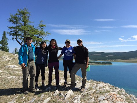 We arrived at the beautiful and gigantic Lake Khovsgol after a long bus ride overnight.