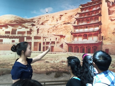 Although not cheap at RMB100, Olivia insisted that we hire a guide for the Gansu Museam to better understand the history and culture along the silk road. She was right!