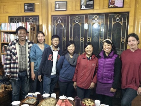 We were honored to be invited to the Tongka artist's home through the introduction of our couchsurfing host, Martina.