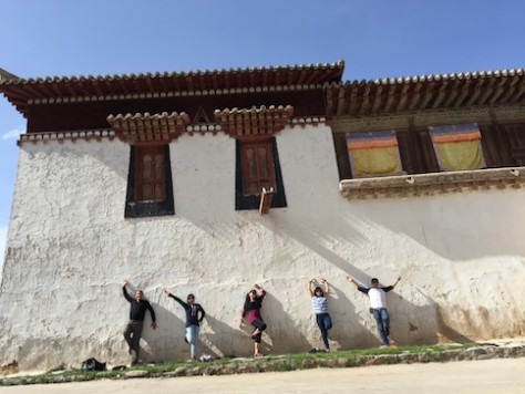 We were the only tourist at the ancient Gomar Gompa monastery in Tongren, Qinghai.