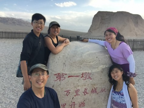 We began with camping at the Great Wall in Beijing and now we finished with arriving at the most western Great Wall in Jiayuguan.