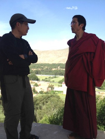 Jonathan spoken at length with a Tibetan monk, trying to better understand his life in the monastery.