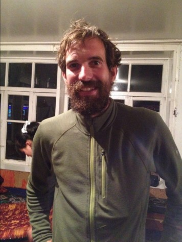 This is the Swiss cyclist, Michael Ph.D. in Physics, who biked through the Pamir Highway.