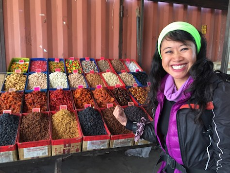 Before our trekking, we visited the town bazaar to stock up on our food for the next 3 days.