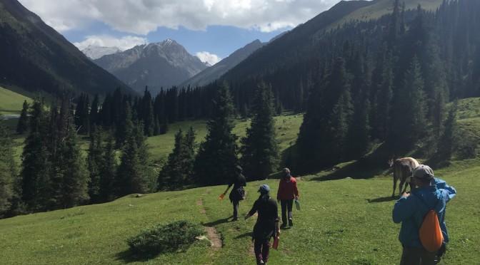 Do-it-yourself Alpine Trekking in Kyrgyzstan