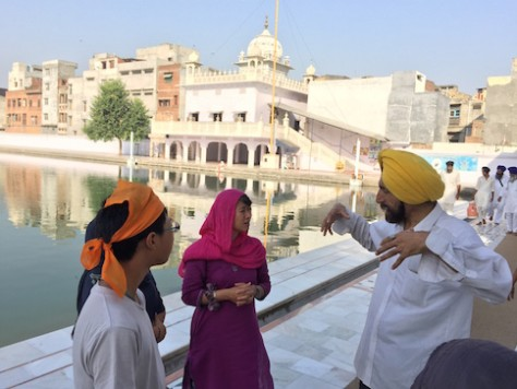 Davinder was one of the best guide we had as we took a Heritage Tour of the city of Amritsar.