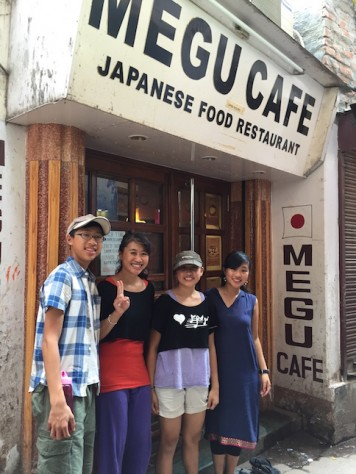 With mostly vegetarian meals in Varanasi, this haven of delicious Japanese meal became our favorite one to one date place.