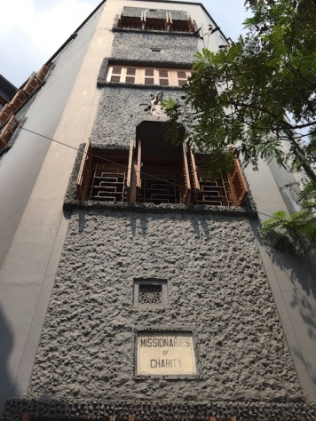 "The ""Mother House"" of the Missionaries of Charity is where Mother Teresa had lived and is buried."