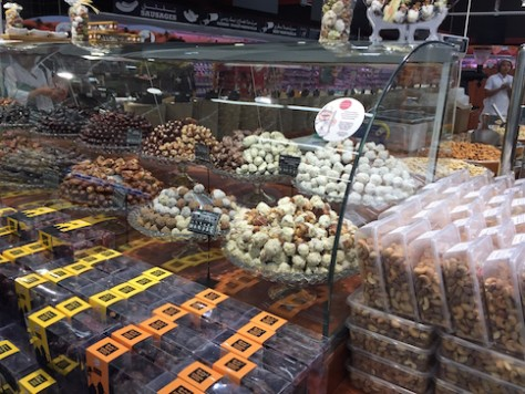 We never knew there were so many varieties and so many ways to eat dates in the Middle East.