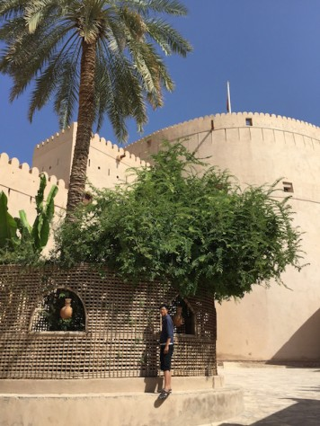 The Niswa Fort housed a cool and well displayed museum about the Omani culture.