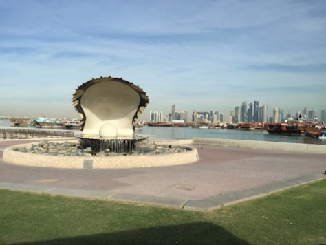 Qatar used to be the center of Pearl Diving before they discovered oil and natural gas.