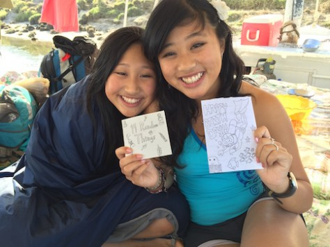 Joani gave Olivia 19 coupons and a card as gifts.