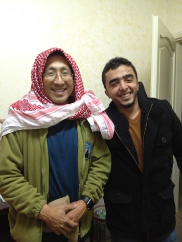 Through couchsurfing, we learned more about the muslim culture.