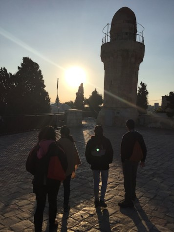 From sunrise to sunset, we walked all over the city of Jerusalem, walking through the Bible.