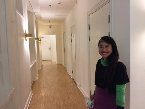 The Berka Hostel in Stockholm is white, clean, and runs like a DIY hotel.