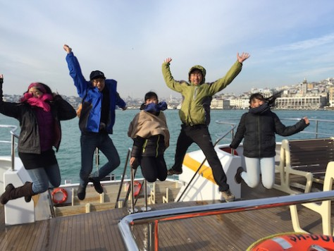 Crossing from the Asian side of Istanbul to the European side signifies that our travel has reached a new milestone.