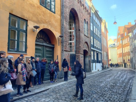 On the city walking tour, we got to walk the oldest part of Copenhagen.