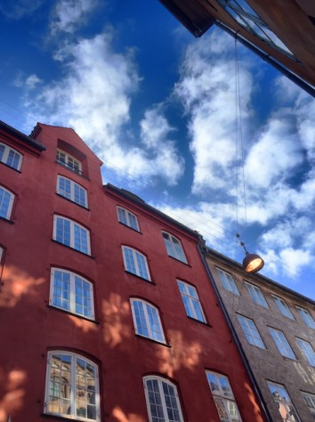 On the city walking tour, we got to admire the colors of the buildings at the oldest part of Copenhagen.