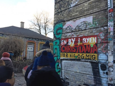 Watching through the Pusher Street in Christianhavn, Copenhagen was an adventure.