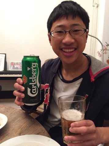 Can't leave Copenhagen without trying the world famous Carlsberg beer.