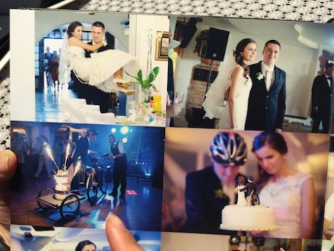 Szymon and Ania, whom we hosted in Kunming, had the mots interesting cycling themed wedding.