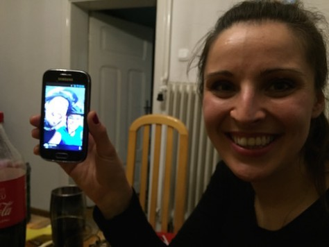 Although Szymon and Ania weren't able to be in Poland when we arrived, we saw their latest photo on Agnieska's smartphone.