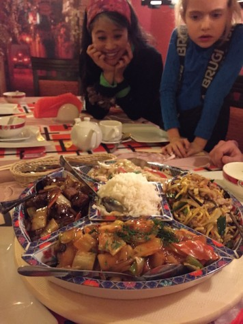 Andrzej and Ewa treated us to Chinese to help with our homesickness!