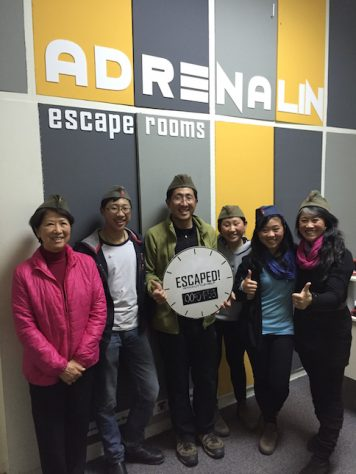 We enjoyed our teamwork as we escaped from the Escape Room Tito in Belgrad, Serbia.