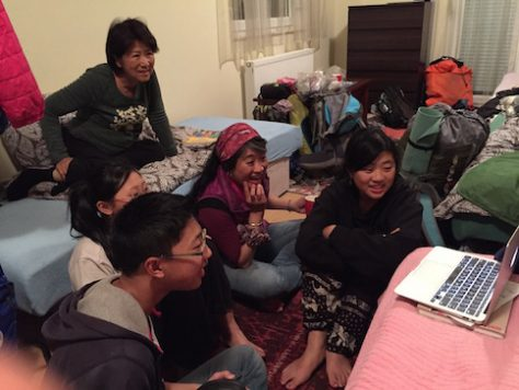We enjoyed watching Korean drama, movies, Fresh Off the Boat, and amazing race together.