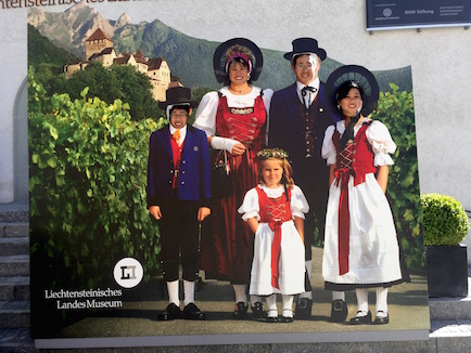 Do we look like the people of Liechtenstein?
