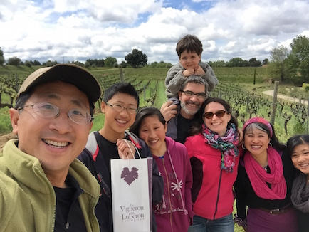 We hiked around an organic vineyard with our friends Sabrina, Gilles, and Clemni in Provence, France.