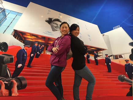 We walked the Red Carpet of the Cannes Film Festival in France.