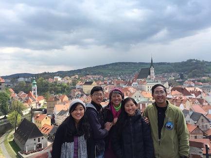 Cesky Krumlov in Czech Republic was the prettiest old town we have visited in all of Europe.