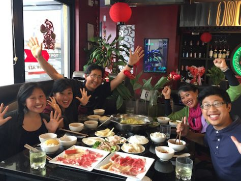 We celebrated and shared about our one year trip over long-missed Sichuan hotpot in LA.