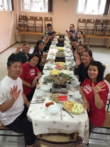 The food and community at the Korean Center in Kazakhstan were amazing!