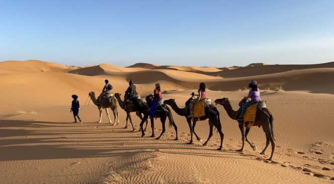 Arabian Night in Sahara