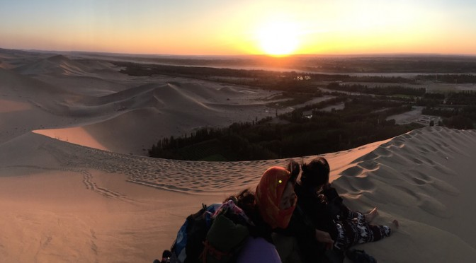 Magical Sand and Heat of the Taklamakan Desert