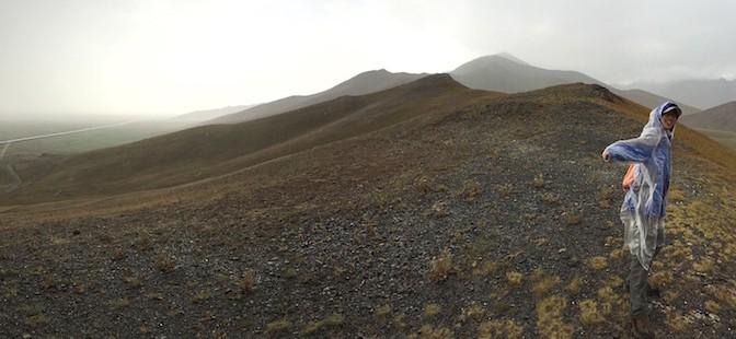 吉尔吉斯坦的山脉
