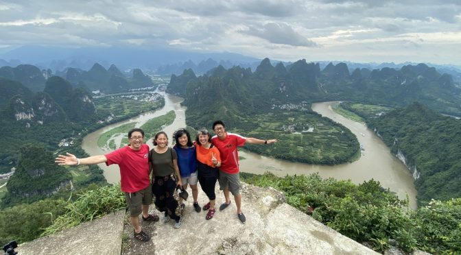 Learning to Travel as Five Adults