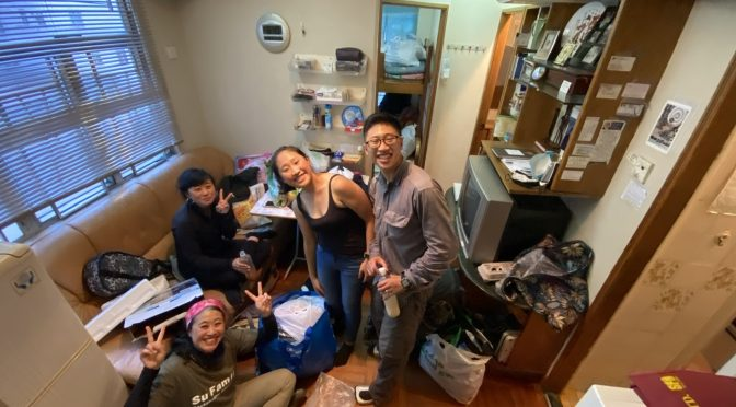 """Locked in a Box in Hong Kong – Su Family """"Quarantine"""" Adventure Part 1"""