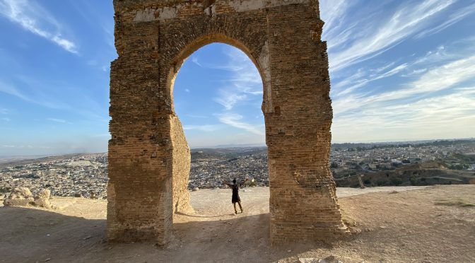 Walking through history in Fes